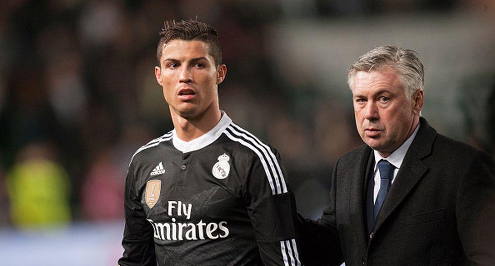 Carlo Ancelotti destacó la llegada de Cristiano Ronaldo a Italia (Foto: Getty).