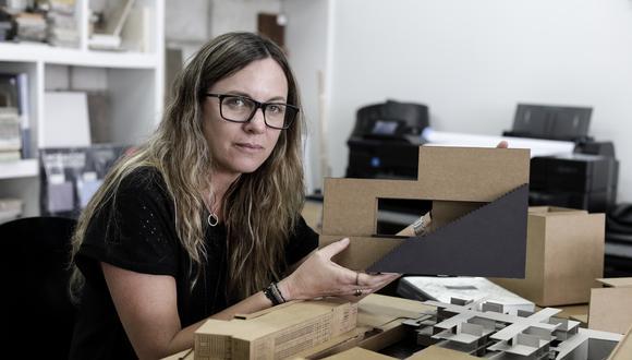 """Para Patricia Llosa, """"la arquitectura es un espacio de resistencia"""". (Foto: Angela Ponce)"""