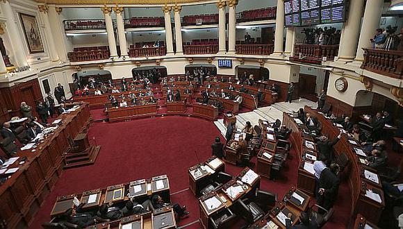 El Pleno del Congreso sesiona desde las 10 de la mañana.  (USI)