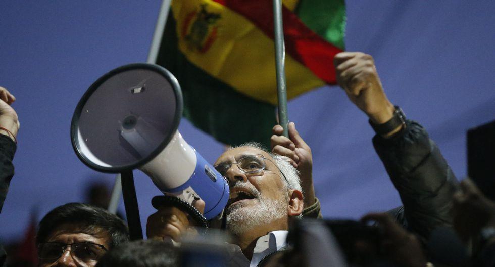 """""""No vamos a permitir que se nos robe por segunda vez una elección"""", aseguró hace unos días el candidato a la presidencia de Bolivia, Carlos Mesa. (Foto: AFP)"""
