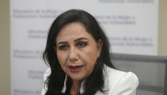 Ministra Montenegro se refirió al caso de Solsiret Rodríguez. (Foto: GEC)