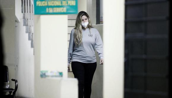 Sofía Franco quedó detenida desde la noche del domingo. Foto: Joel Alonzo/ @photo.gec