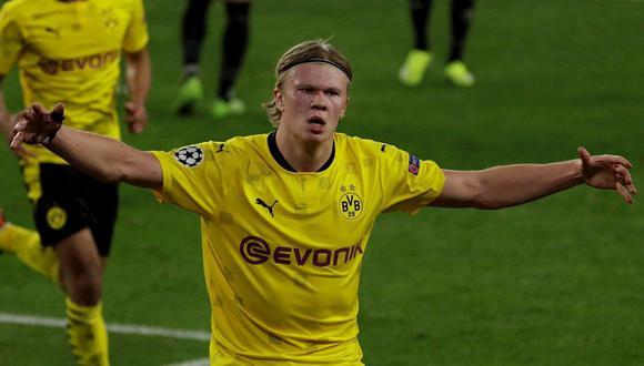 Erling Haaland llegó a Borussia Dortmund en la temporada 2019. (Foto: EFE)