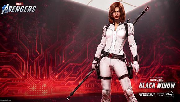 Llega nuevo contenido al videojuego de Square Enix con motivo del estreno de la película de 'Black Widow'.