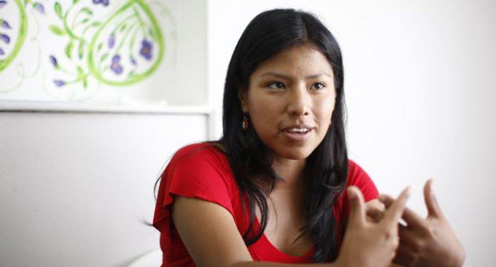 Indira Huilca anunció que el Frente Amplio emitirá un  pronunciamiento sobre Venezuela. (Perú21)