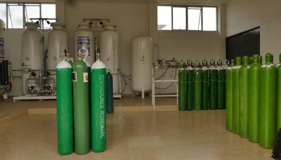 Lambayeque: verificarán en los domicilios el uso adecuado de los balones de oxígeno repartidos (Foto: Gore Lambayeque)