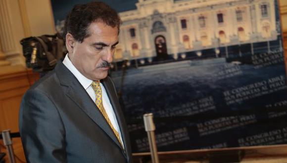 Julio Gagó bajo lupa. (César Fajardo)