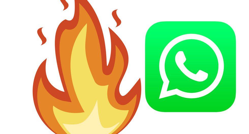 Este es el verdadero significado del emoji del fuego de WhatsApp que muchos confunden. (Foto: Emojipedia)