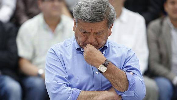 César Acuña aceptó la repartición de bienes tras recibir una carta notarial. (USI)
