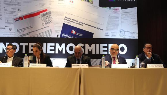 Periodistas han denunciado amenazas de Perú Libre (GEC).