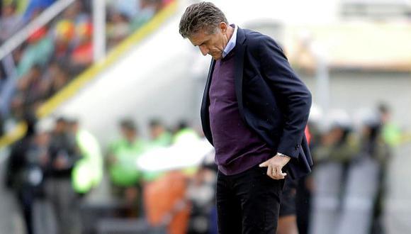 Despiden a Edgardo Bauza y no es más el entrenador de la selección argentina. (Reuters)