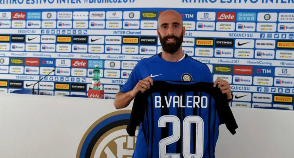 Borja Valero es el nuevo jugador del Inter de Milan. (Inter de Milan)