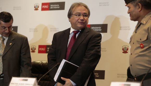 Walter Albán será interpelado por el caso de gobernadores. (Martín Pauca)