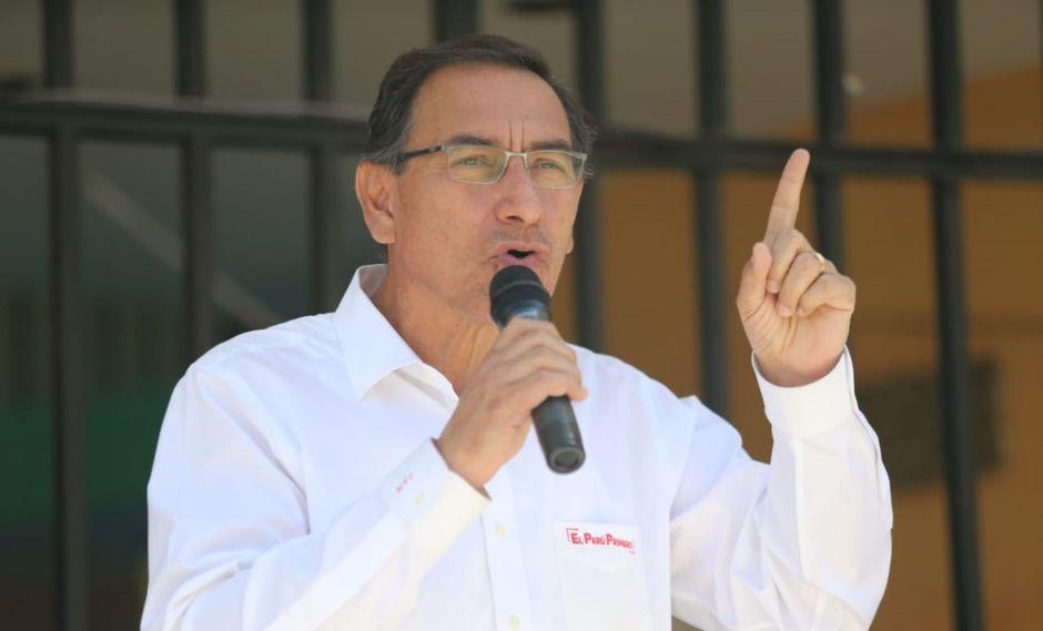 El presidente Martín Vizcarra dijo que pueden opinar sobre el Ministerio Público, pero no intervenir por respeto a su independencia. (Foto: GEC)