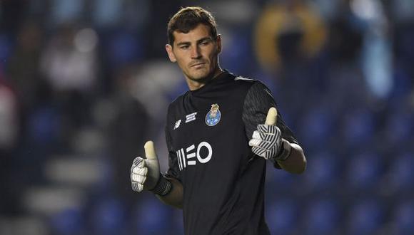Iker Casillas jugó su último partido oficial el 26 de abril por la liga portuguesa. (Foto: AFP)