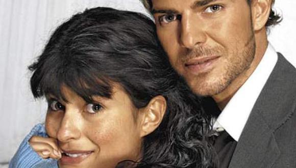 Paola Rey y Juan Pablo Baptista protagonizaron La mujer en el espejo en 2004 (Foto: Instagram)