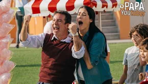 """La versión peruana de """"Papá Youtuber"""" estuvo protagonizada por Carlos Carlín y dirigida por Fernando Villarán. (Foto: @papayoutuber)"""