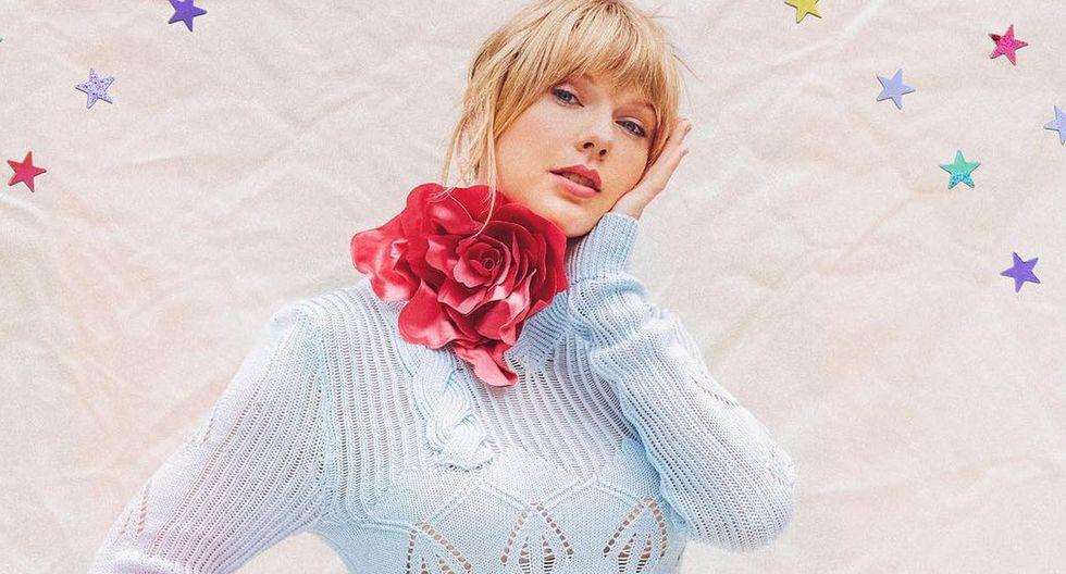 """Taylor Swift anuncia la fecha de lanzamiento de su nuevo disco """"Lover"""". (Foto: @taylorswift)"""