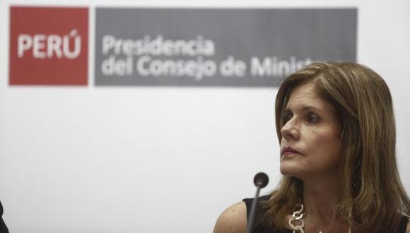 """""""Si hay tolerancia es justamente para evitar que haya problemas"""", dijo la vicepresidenta de la República. (CésarCampos/Perú21)"""