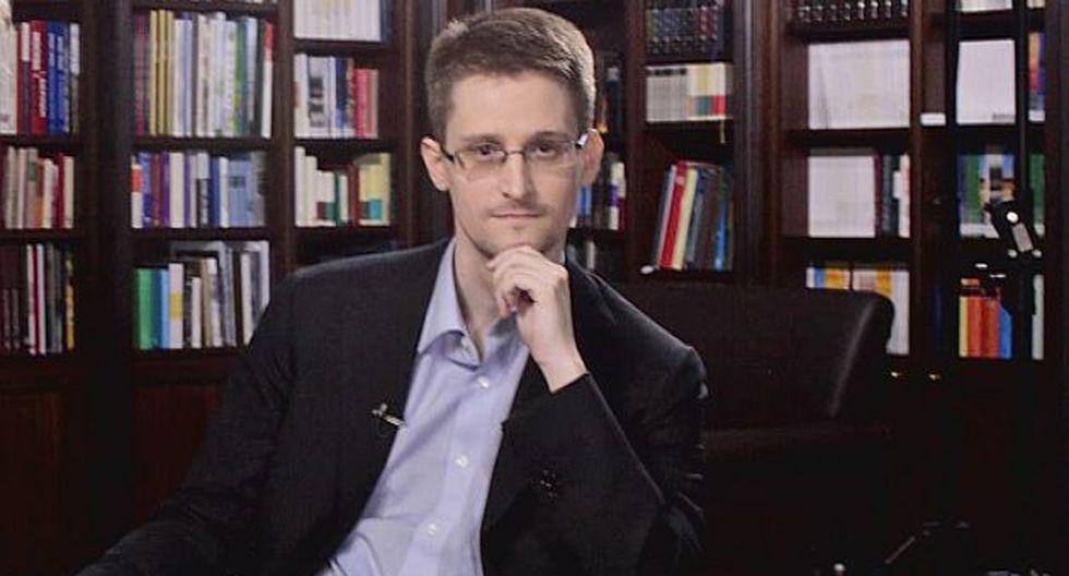Edward Snowden apareció en la cadena estadounidense NBC. (Reuters)