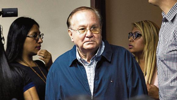 mucho por decir. Luis Nava tiene aún declaraciones pendientes con la Fiscalía. (GEC)