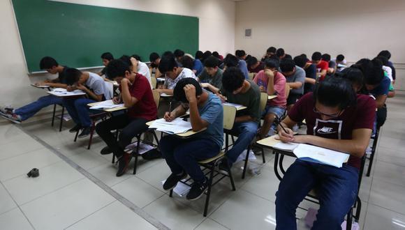 UNMSM posterga examen de admisión presencial por aumento de contagios de COVID-19. (Foto: Andina)