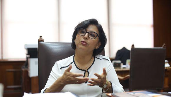 Respecto al bono de 760 soles para los trabajadores que se encuentran en suspensión perfecta, la ministra Sylvia Cáceres sostuvo que en los próximos días se dará a conocer quiénes son los beneficiados.  (Foto: MTPE)