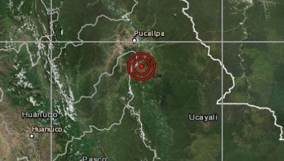 De acuerdo con el IGP, el epicentro de este movimiento telúrico se ubicó a 50 km al norte de Pucallpa, en la provincia de Coronel Portillo. (Referencial / IGP)