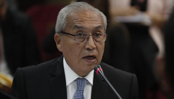 Pedro Chávarry podría ser destituido como fiscal supremo (Renzo Salazar/GEC).