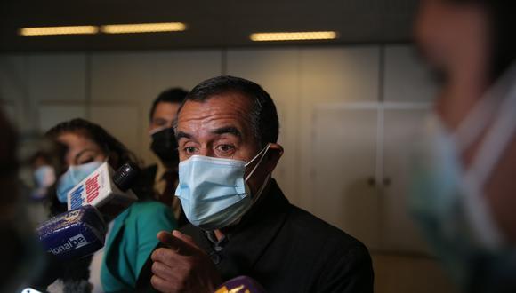 El ministro es cuestionado por sus presuntos vínculos con grupos radicales. (Foto: GEC)