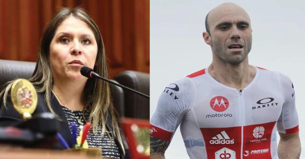 """Extenista Luis Horna responde fuerte a congresista: """"Con el deporte no se meta""""."""