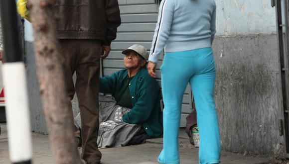 El 73% de los ancianos en el país no tienen trabajo y muchos están en situación de abandono. (USI)