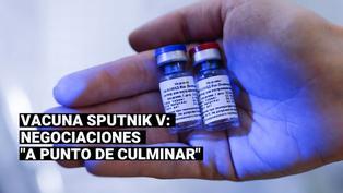"""Óscar Ugarte: """"Negociación de la vacuna Sputnik V está a punto de culminar y se firmará el contrato"""""""