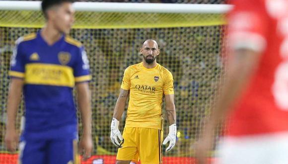 Marcos Díaz envió contundente mensaje a River Plate por el título de Boca Juniors. (Foto: AFP)