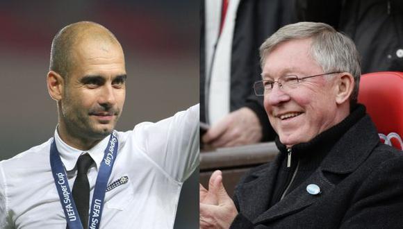 Guardiola sería el elegido por el 'Sir' para reemplazarlo. (AP)