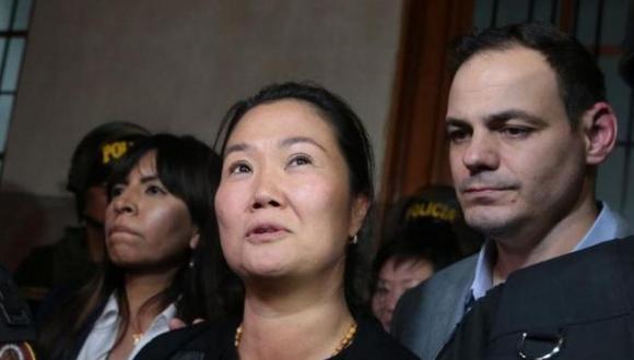Keiko Fujimori se encuentra internada en la Clínica Centenario desde el sábado pasado (GEC).