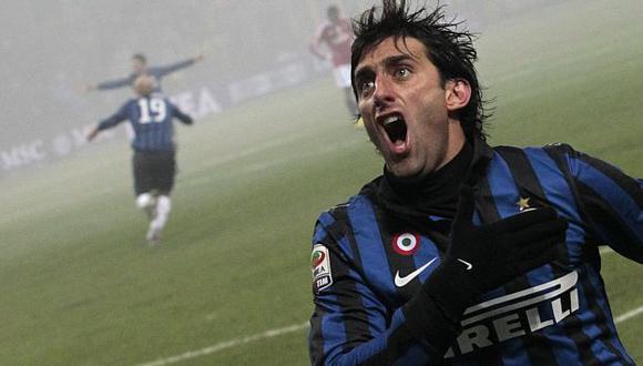 Diego Milito le dio la victoria al Inter. (Reuters)
