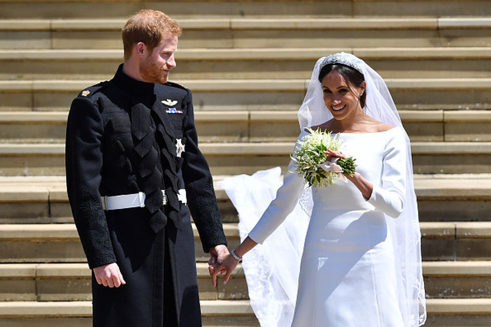 Boda real: príncipe Harry y la actriz Meghan Markle (Getty Images)