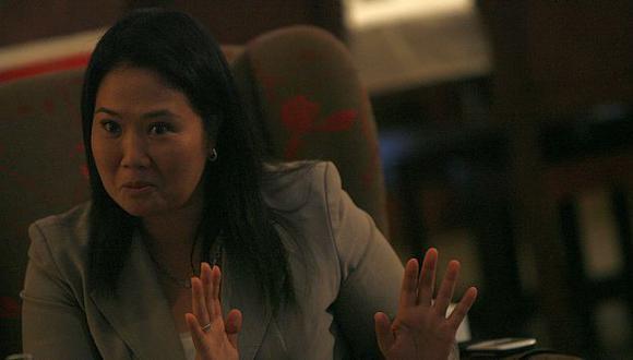 Keiko Fujimori dijo que viaje de Humala dejó una sensación de frivolidad. (Perú21)
