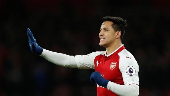 Manchester City también pretende los servicios de Alexis Sánchez. (REUTERS)
