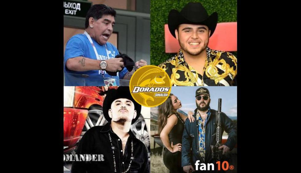 Los mejores memes que dejó el anuncio de la llegada de Diego Maradona a Dorados de Sinaloa. (Foto: Facebook)