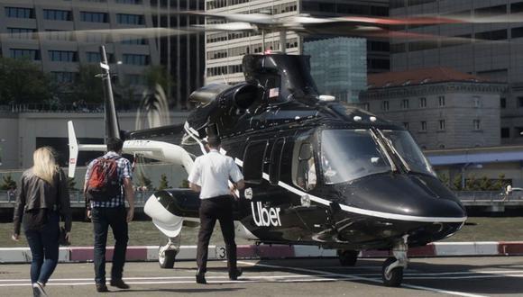 Los helicópteros, con dos pilotos de tripulación, pueden dar servicio hasta a cinco personas. (Foto referencial: AFP)