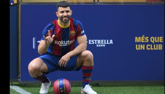Sergio Agüero resignó dinero para jugar por Barcelona. (Foto: AFP)