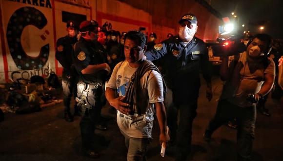 Detenidos durante la cuarentena serán denunciados por el Ministerio Público. (GEC)