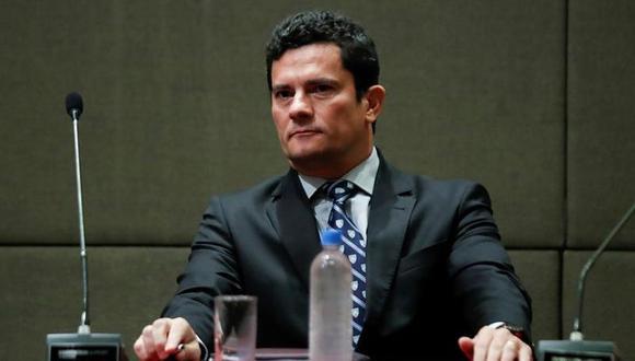 Sergio Moro, quien condenó y mandó a encarcelar a Luis Inacio Lula da Silva, aceptó ser ministro de Justicia y de Seguridad Pública del presidente electo Jair Bolsonaro. (Foto: EFE)