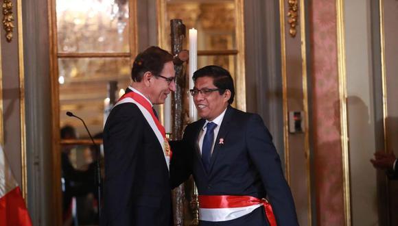 Vicente Zeballos es el nuevo primer ministro. (GEC)