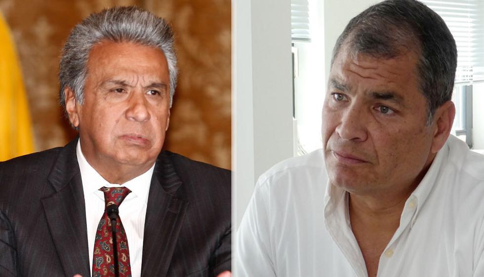 El presidente de Ecuador, Lenín Moreno, indicó que espera que su antecesor y otrora aliado político, Rafael Correa, regrese al país para enfrentar a la justicia. (Foto: EFE/AP)