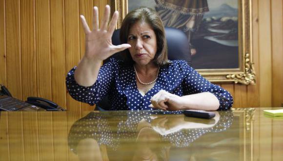 """Lo rescatable. Lourdes Flores resaltó el llamado de Humala para """"repensar"""" la descentralización. (Perú21)"""