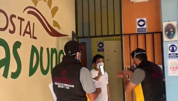 Lambayeque: verifican que negocios cumplan con medidas de bioseguridad contra el COVID-19 (Foto difusión).