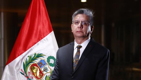 Iván Godofredo Merino Aguirre es el nuevo ministro de Energía y Minas. Foto: Presidencia